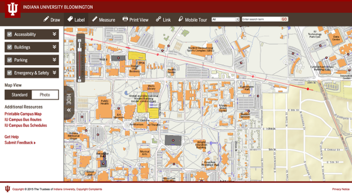 Iupui Campus Map Pdf 2018 Related Keywords Suggestions Iupui