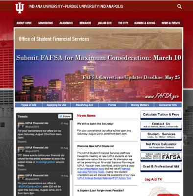 Iupui Financial Aid >> Financial Aid Assistance Iupui Indianapolis One Iu