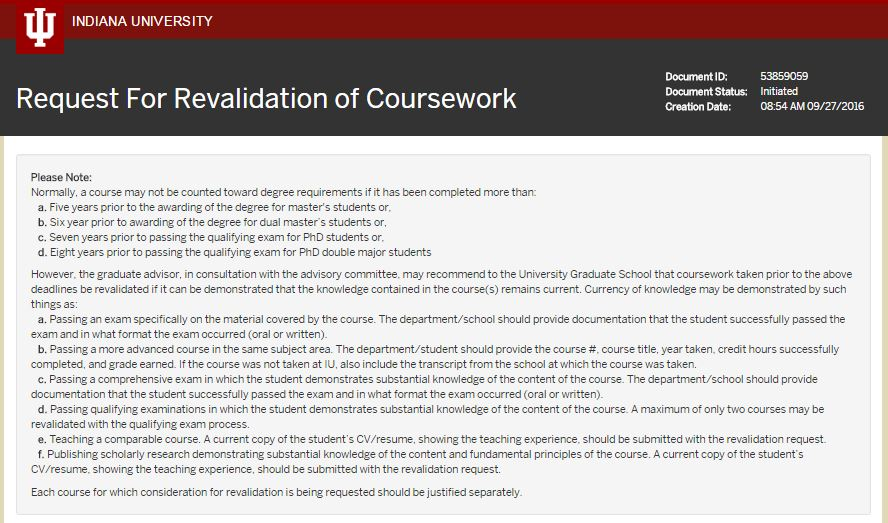 Course Revalidation image
