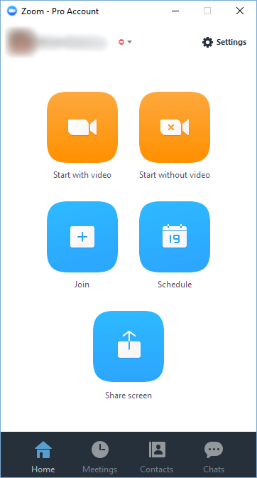Zoom Desktop Client