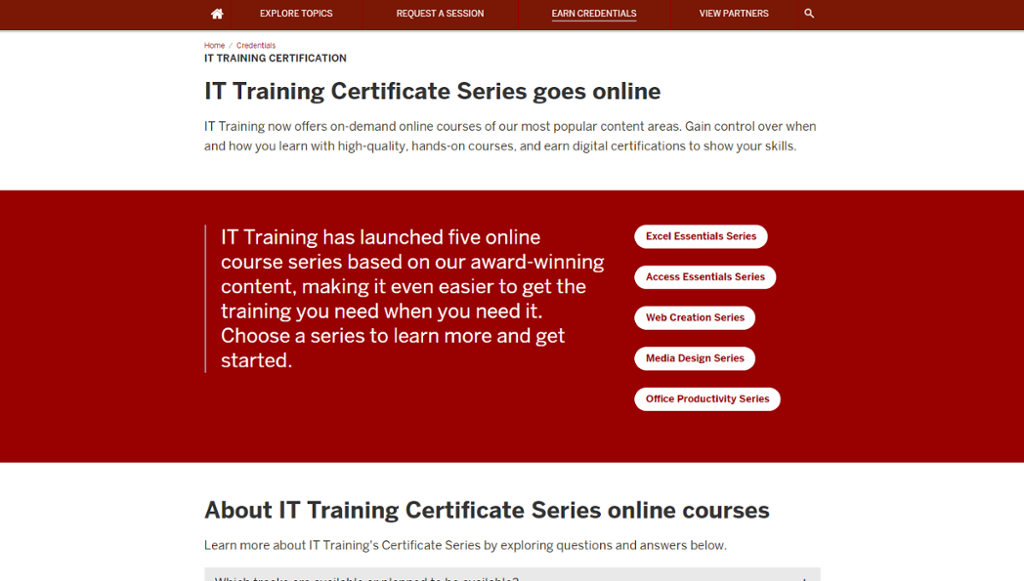 making a certificate online
